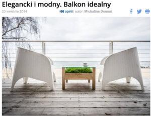 Balkon idealny