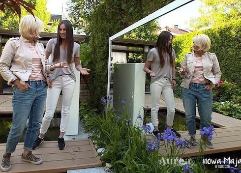 Projektowanie ogrodów - Maja w ogrodzie Aureagarden