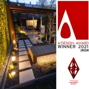 Read more about the article Zdobyliśmy międzynarodową nagrodę A'DESIGN AWARD